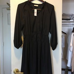 Ann Taylor Black Silk dress